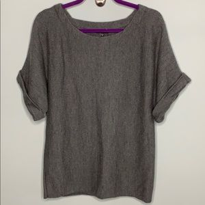 Eileen Fisher Merino Wool Tunic Sweater